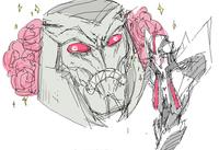 Ask-Kawaii-Starscream: Sempai by fuzzyrobot
