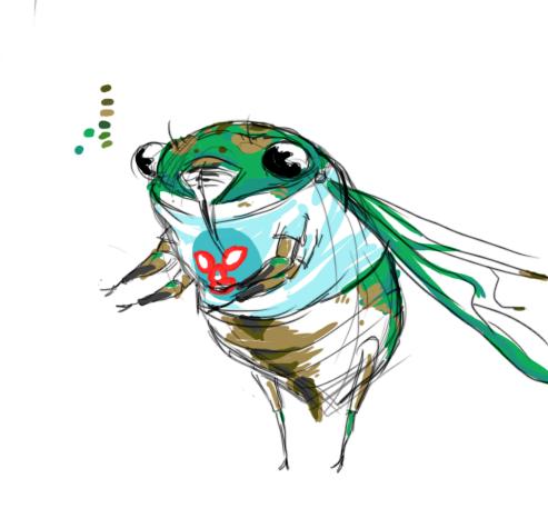 Cicada by fuzzyrobot