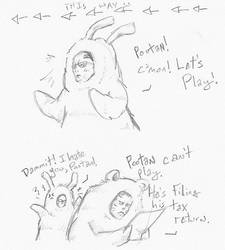 Hey Pootan-... by fuzzyrobot