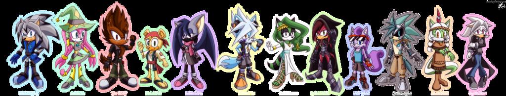 Elemental Guardians! by MonochrOmegaStar