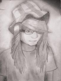 Self portrait by MARGO-was-here