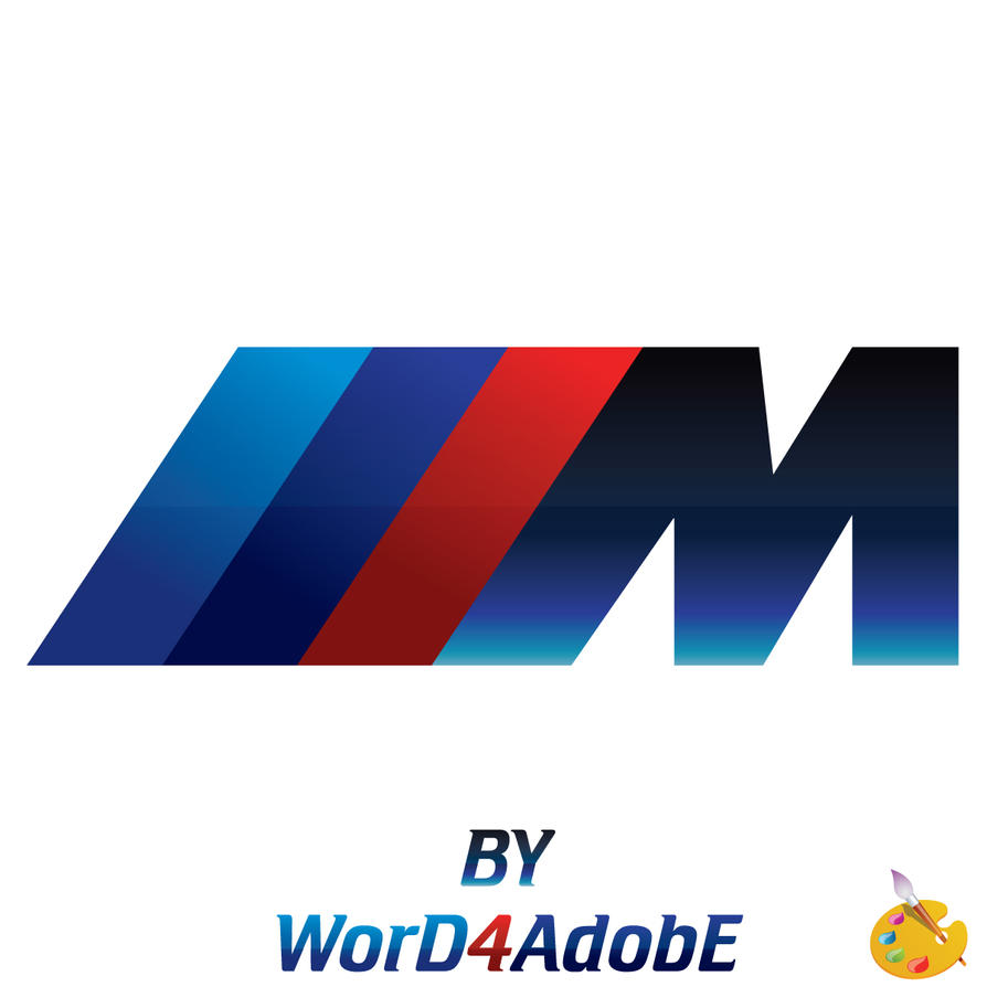 logo bmw m power by word4adobe by word4adobe on deviantart. Black Bedroom Furniture Sets. Home Design Ideas