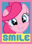 Smile Poster by ~IceRoadLion