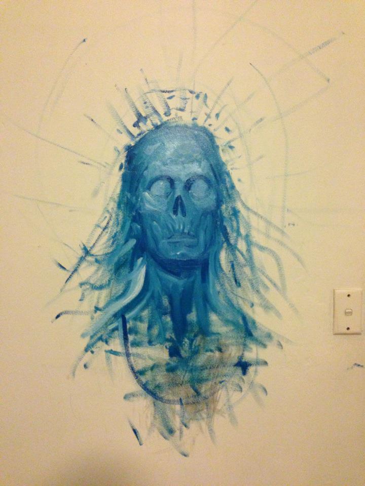 ghost head by LouisGreen