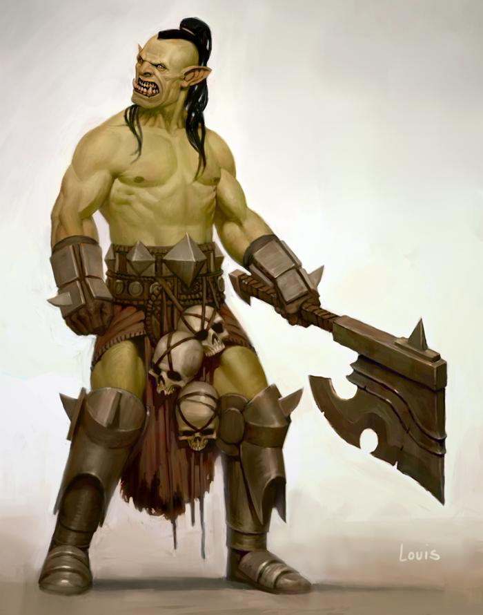 Skull taker by LouisGreen