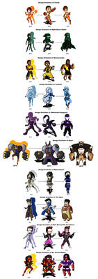 The All-Stars Evolution