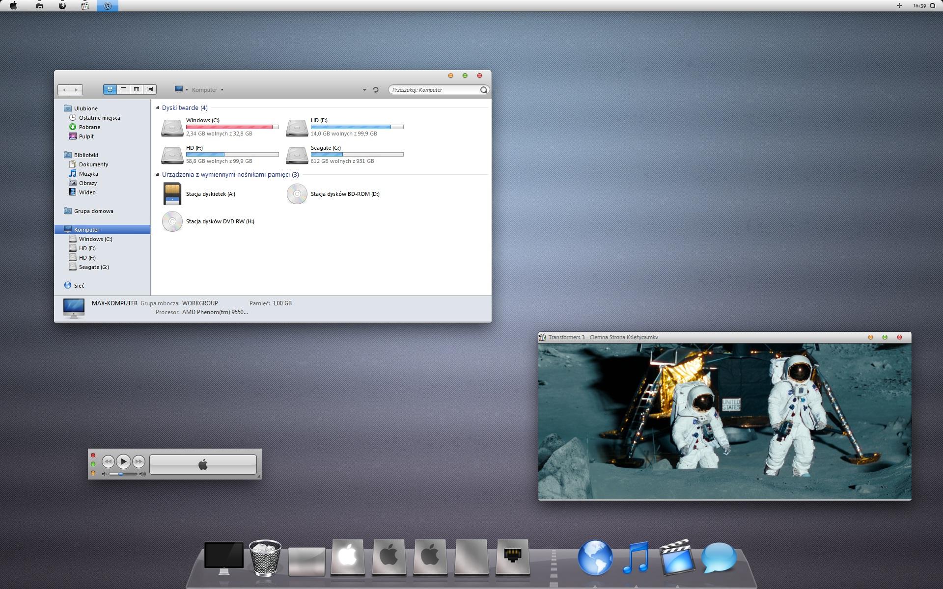Vitae Desktop by maxxdogg