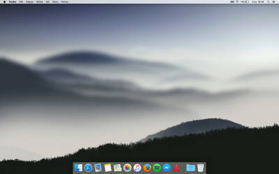 macOS Sierra - my current desktop