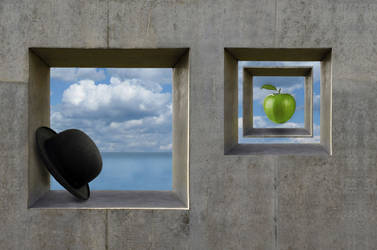 Tribute to Magritte II by dicalva