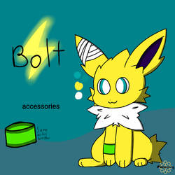 Bolt the jolteon reference