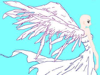 Angel base by nayrudreamcatcher