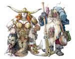 Dwarfs Olg and Duin