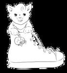 Sneaker Kitty
