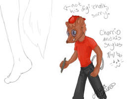Charrio and his stylus by lorikitty