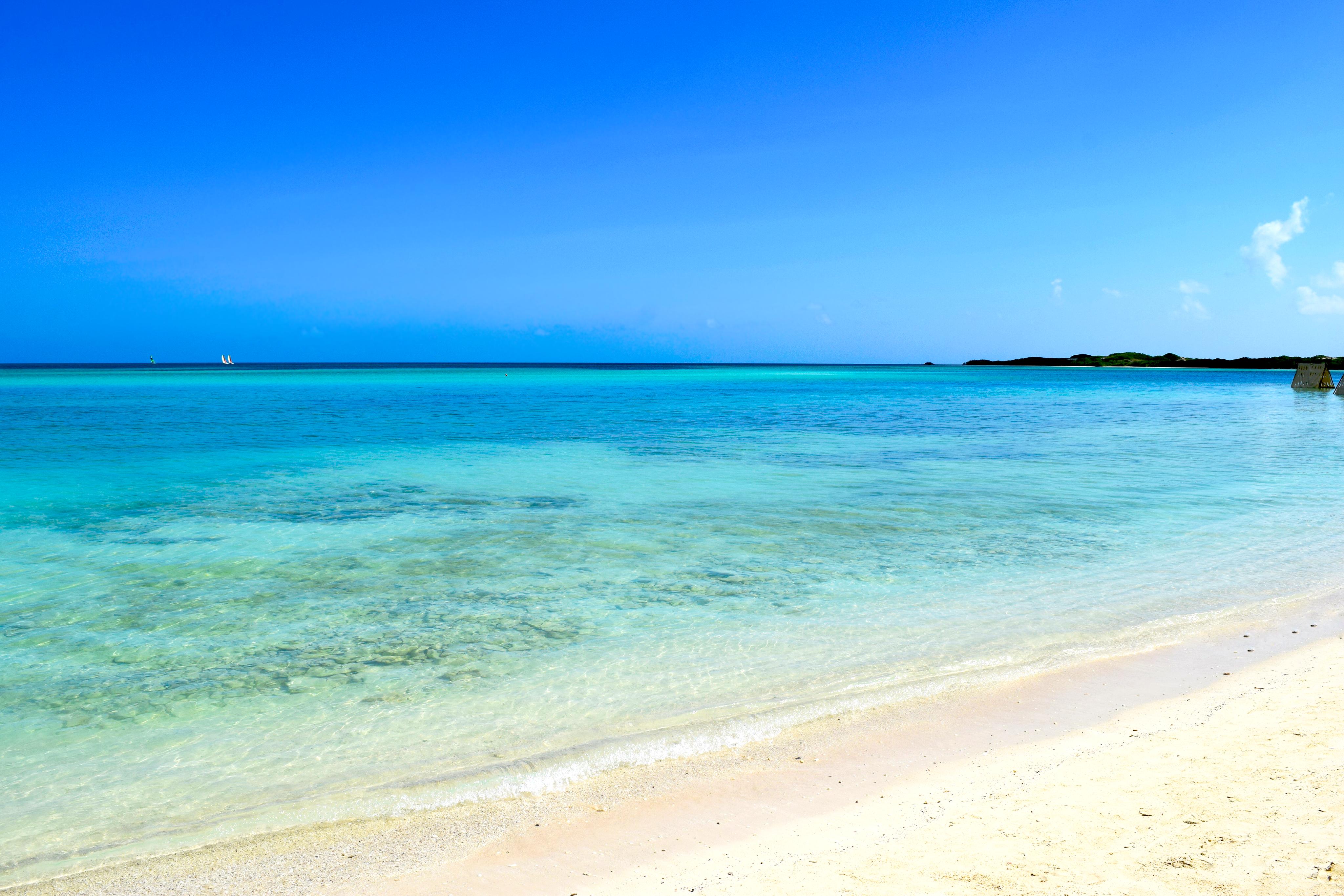 Simple Flows - Beach: Cuba by GhastlyDragon
