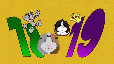 The Guinea Pigs say 'Happy Birthday DA!'