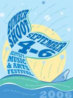 2006 Bumbershoot Poster by wilhelmdesign