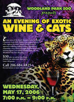 Woodland Park Zoo event ad by wilhelmdesign