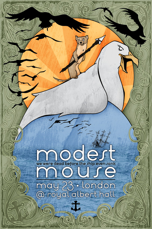 Modest Mouse Tour Poster