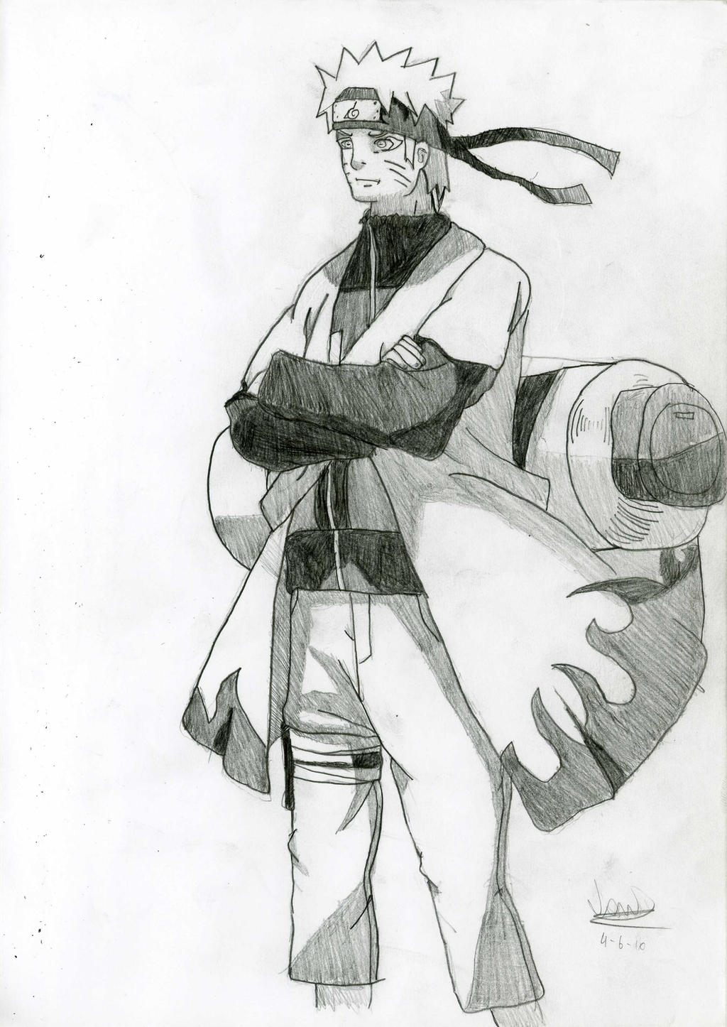 Naruto Sage Mode Drawings Drawing Sage Mode Naruto