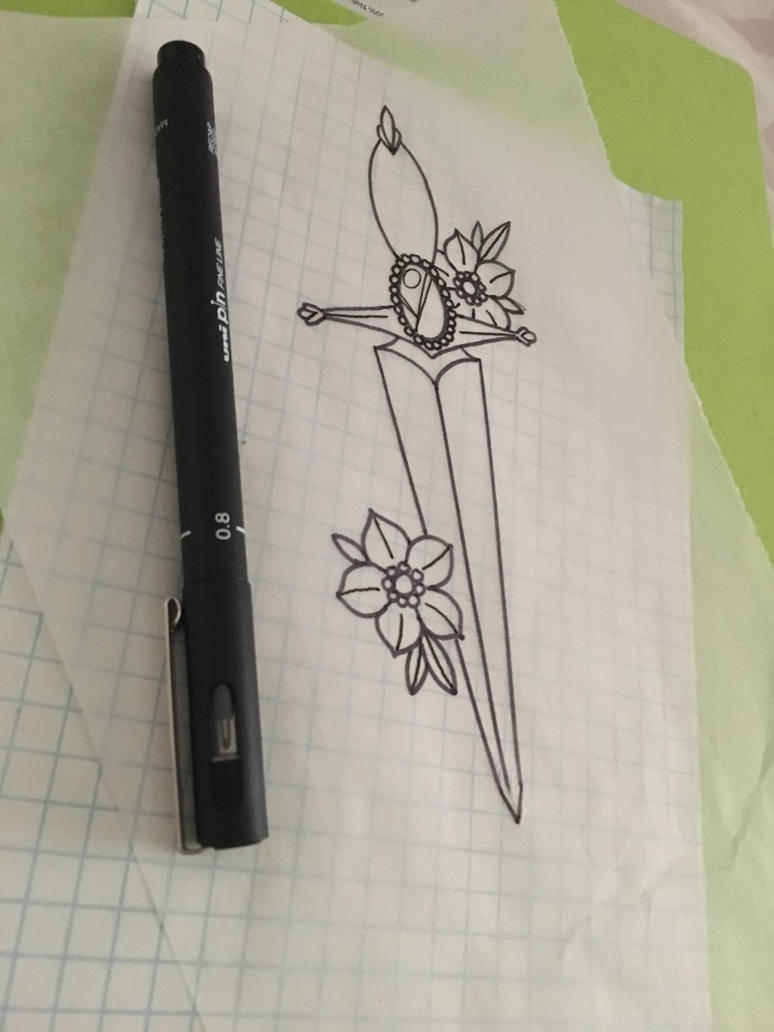 Dagger [Practice] by prsly