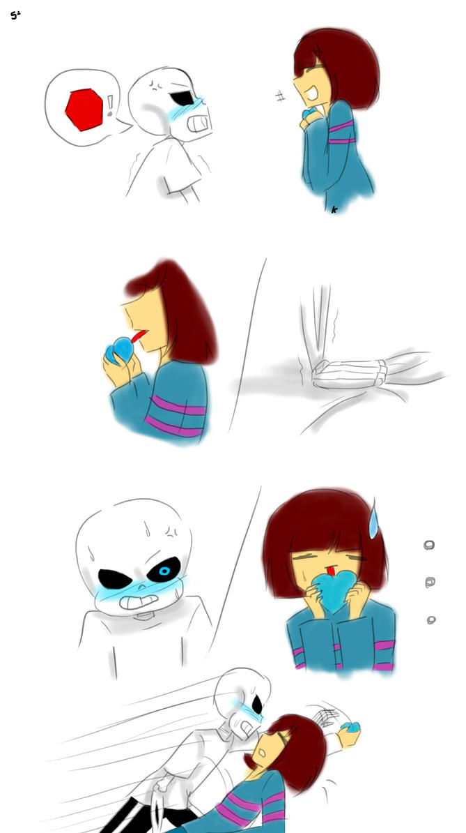 Undertale (Sans and Frisk) - If i do it... [5] by KahLDme ...