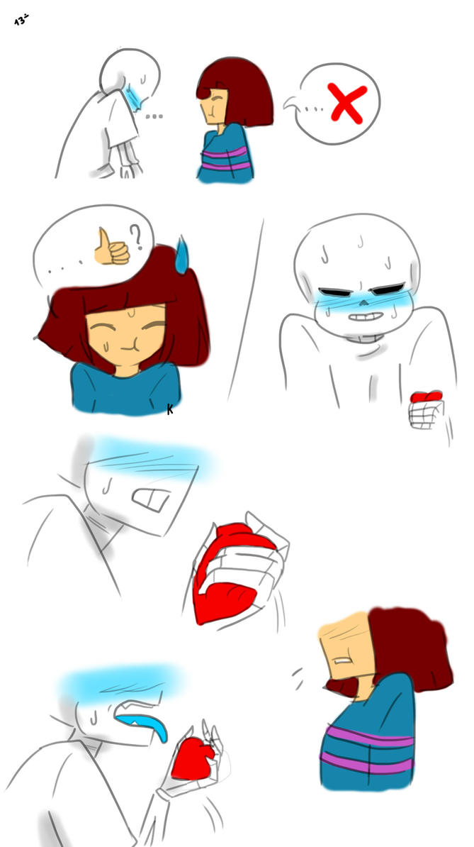 Undertale (Sans and Frisk) - If i do it... [13] by KahLDme ...