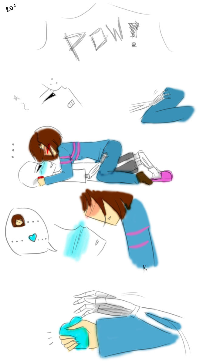 Undertale (Sans and Frisk) - If i do it... [20] by KahLDme ...