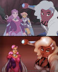 She-ra - Spinnerella and Netossa