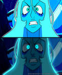 Steven Universe screenshot - Angry Blue Diamond