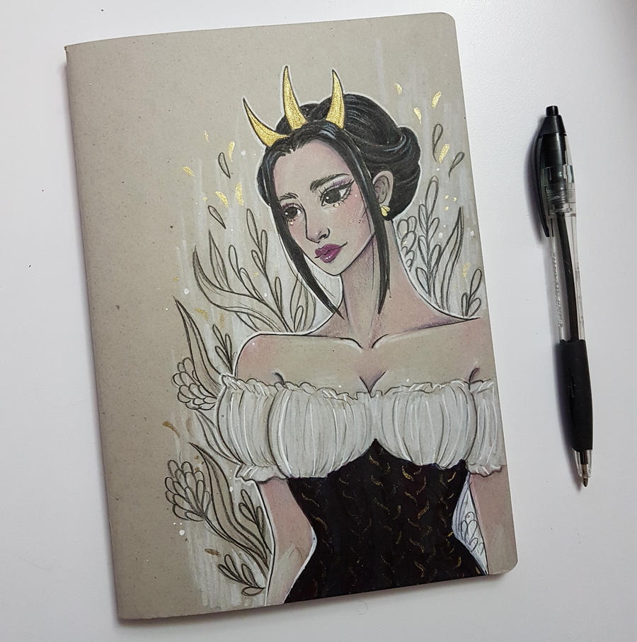 Notebook Cover Art : Custom notebook cover by n mh on deviantart
