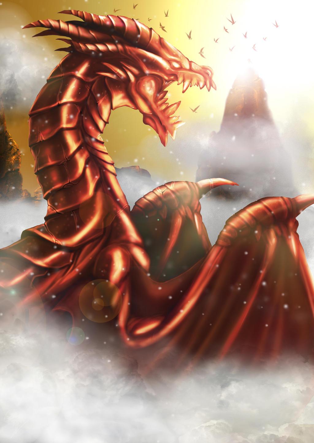 ... Chocolate Dragon(Valentine) By Tung 6458