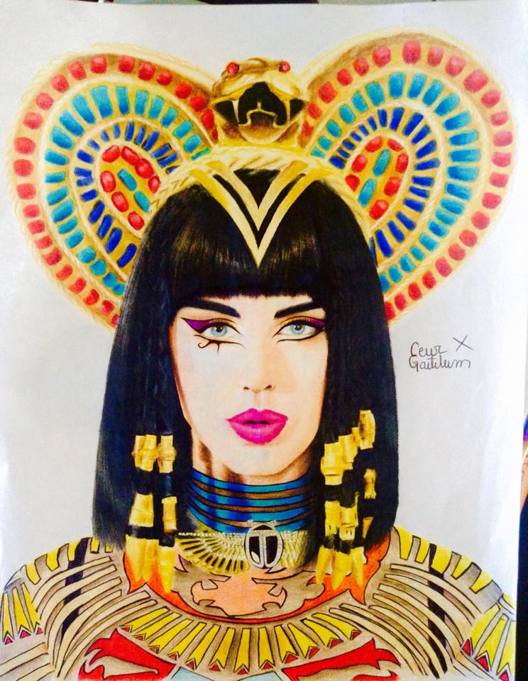 Katy Perry - Dark Horse by CesarGastelum on DeviantArt