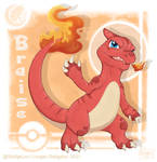 Braise's growing up ! - Charmeleon by Lougan-StellgaLou