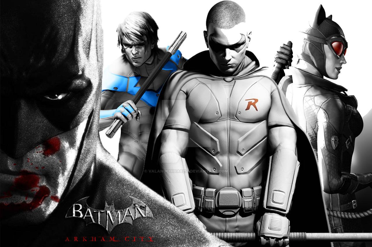 Batman Arkham City Wallpaper 2 By Valanuchiha8214 On Deviantart