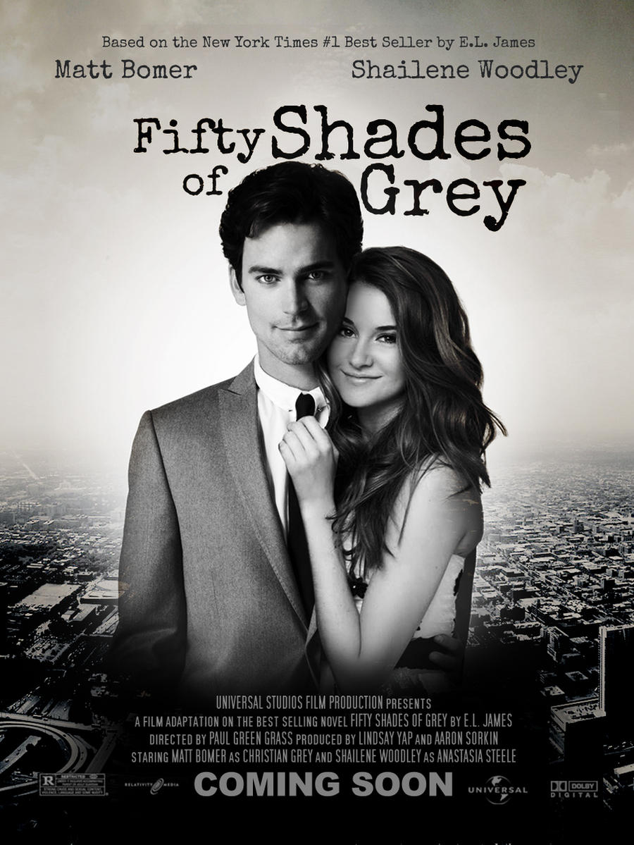 Fifty shades of grey poster by lndzyp on deviantart - Fifty shades of grey movie wallpaper ...