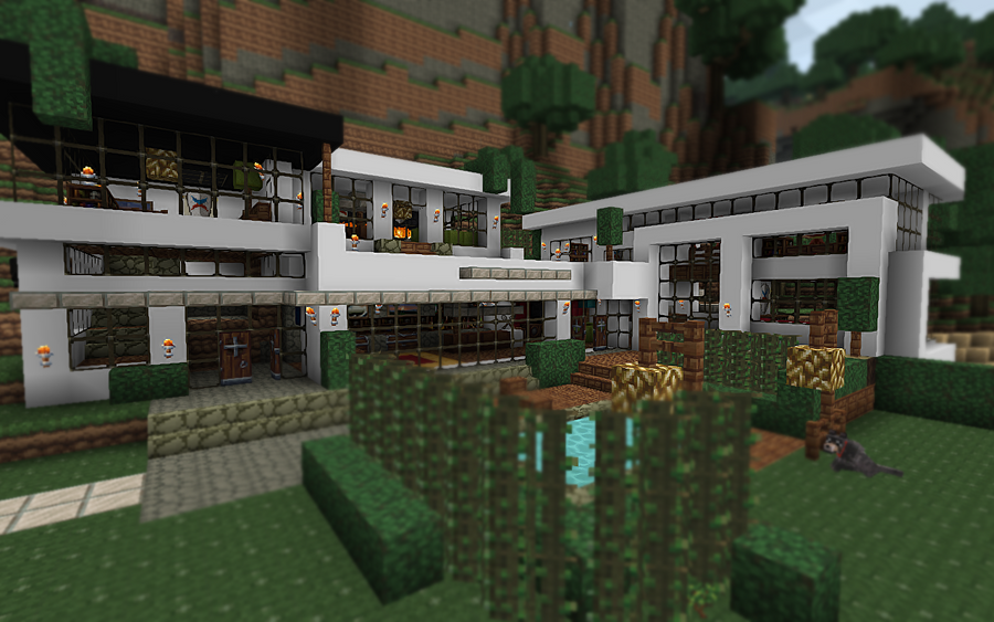 Modern House In Minecraft By Crocy On DeviantArt