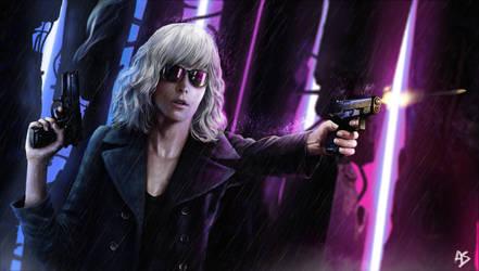 Atomic Blonde Contest! by EternalEyes123