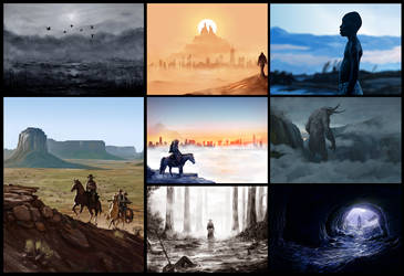Speedpaint Collection by EternalEyes123