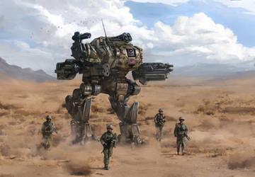 Mk-18 Scorpion on Patrol by EternalEyes123