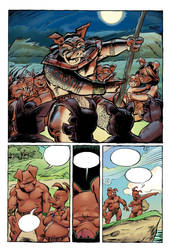 A page from The Savage Swine. by Renzo1991