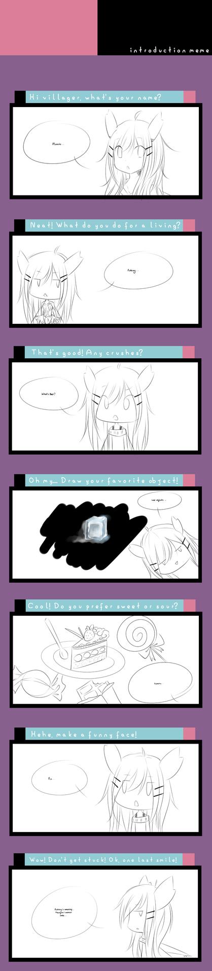 Introduction Meme by Jojuki-chan