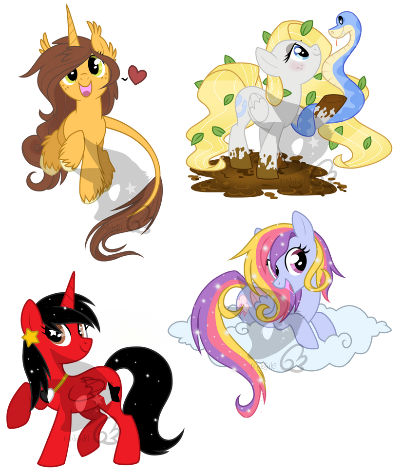 My Little Patooties by Jojuki-chan