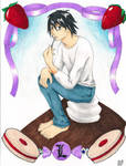 Lawliet in Candy Land
