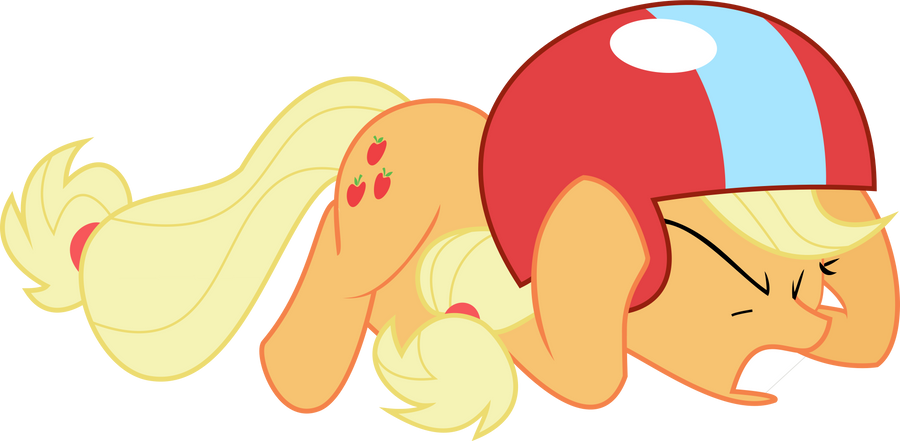 Apple Jack, hit the deck! by Kiryuin-Satsuki