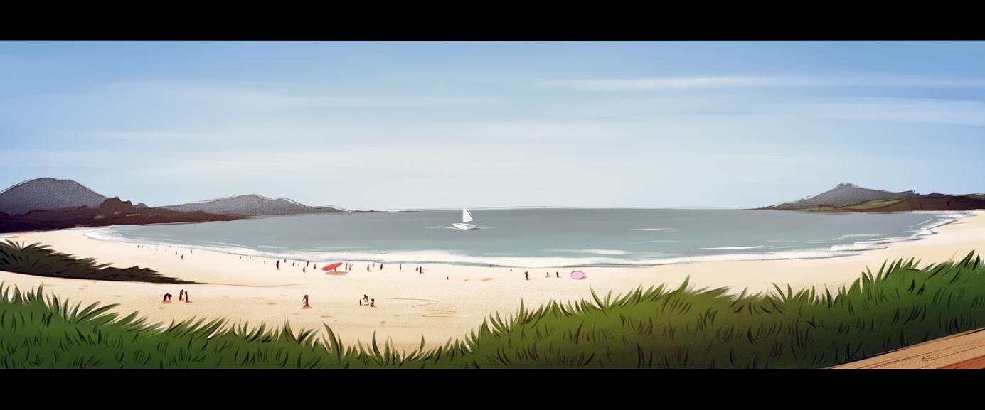 Summertime by Rin-bin
