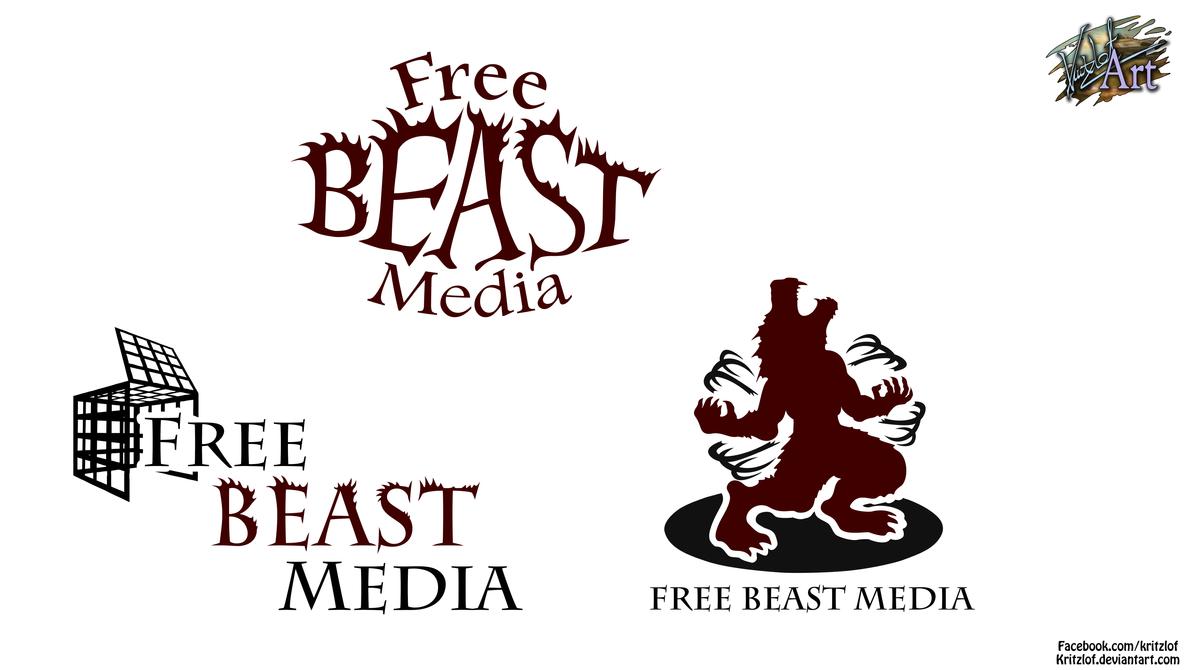 Free Beast Media - Logo Design by Kritzlof