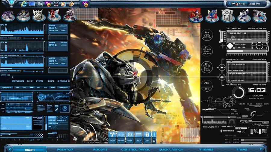 windows 7 3d desktop themes free download