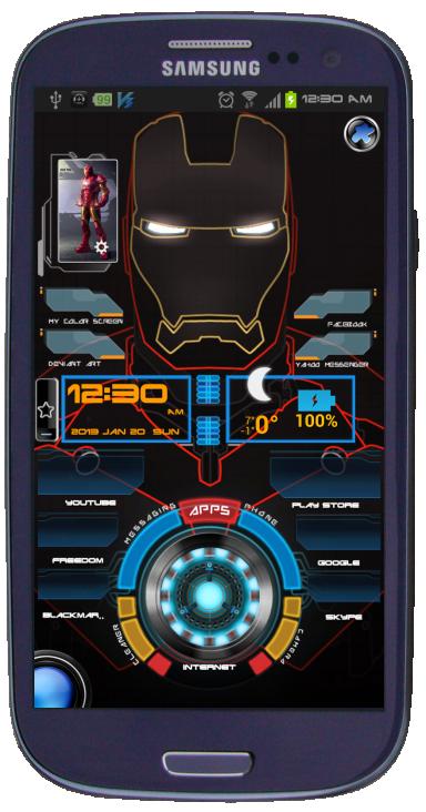 Iron Man Home Screen 2013 By Jeromegamit On Deviantart