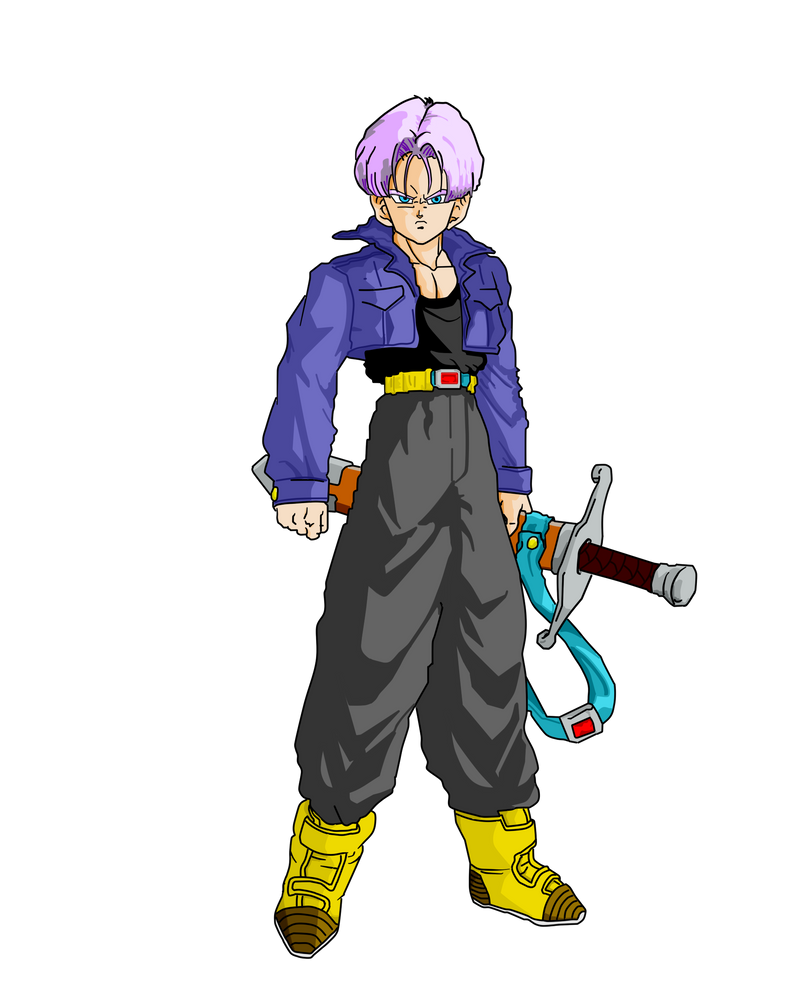 Future Trunks sword  Dragon Ball Wiki  FANDOM powered